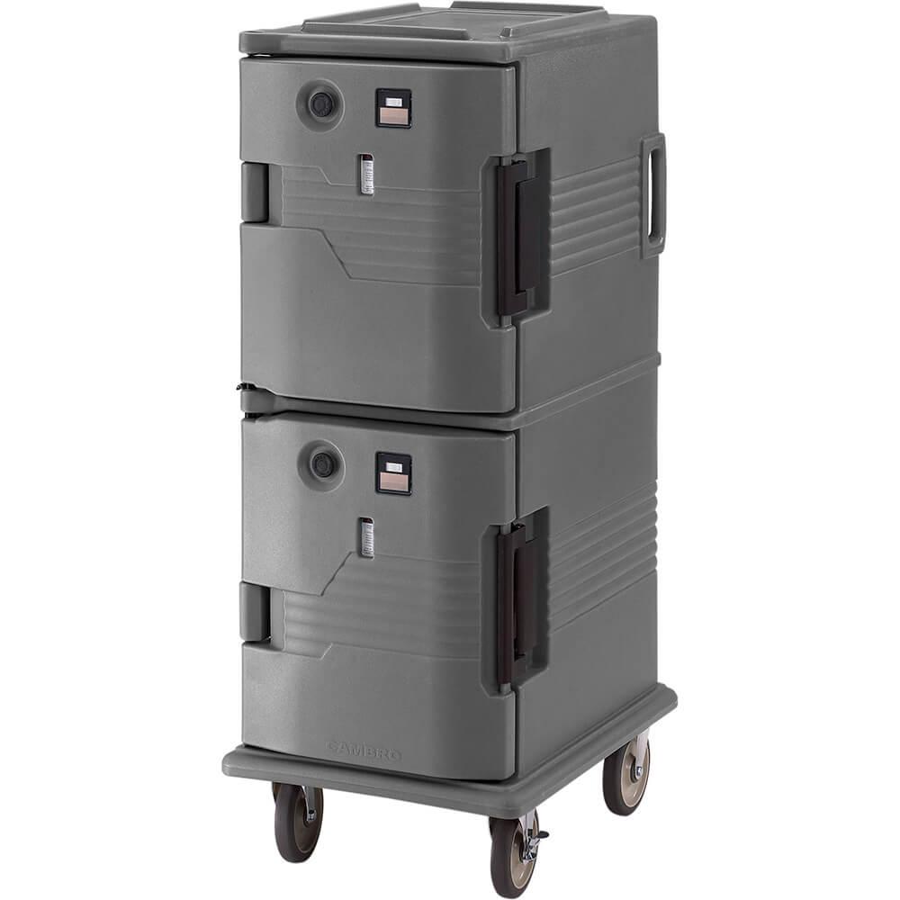 Granite Gray, H-Series 2-Compartment Electric Hot Box, 110V View 2