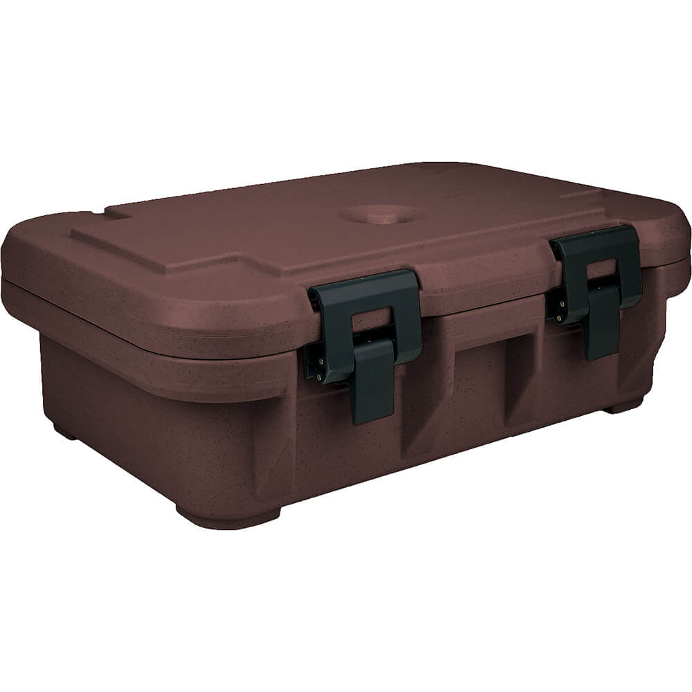 "Dark Brown, Insulated Food Carrier for 4"" Deep Pans, S-Series"