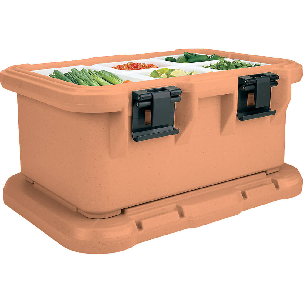 Coffee Beige, Insulated Food Carrier for 6