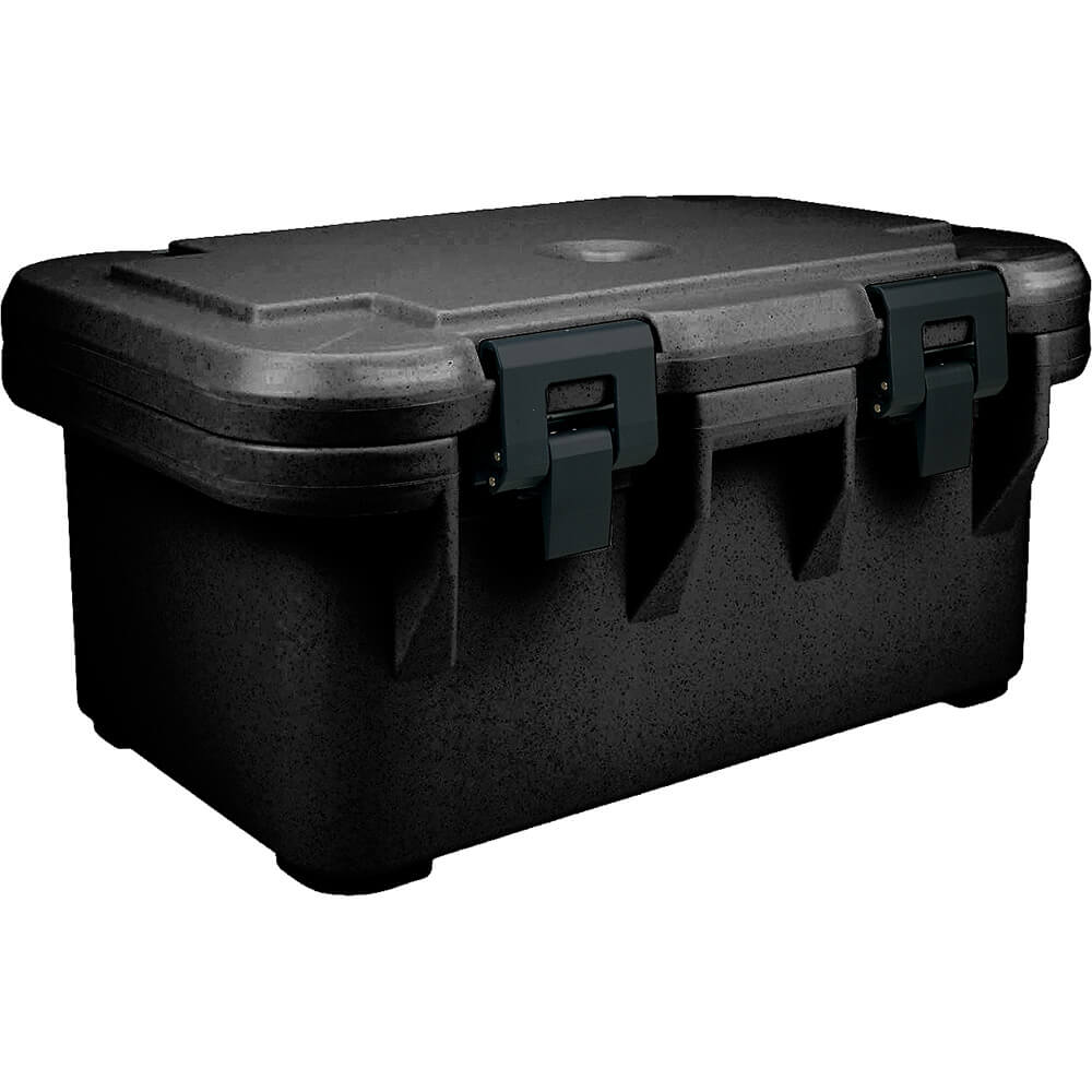"Black, Insulated Food Carrier for 8"" Deep Pans, S-Series"
