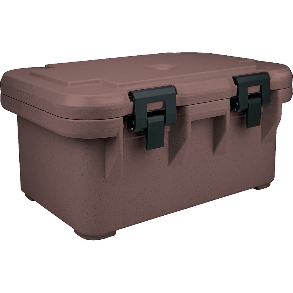 "Dark Brown, Insulated Food Carrier for 8"" Deep Pans, S-Series"