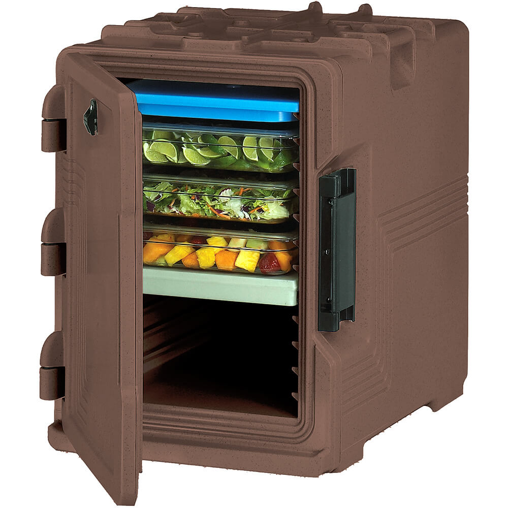 Dark Brown, S-Series Ultra Insulated Food Carrier, Built-in Gasket