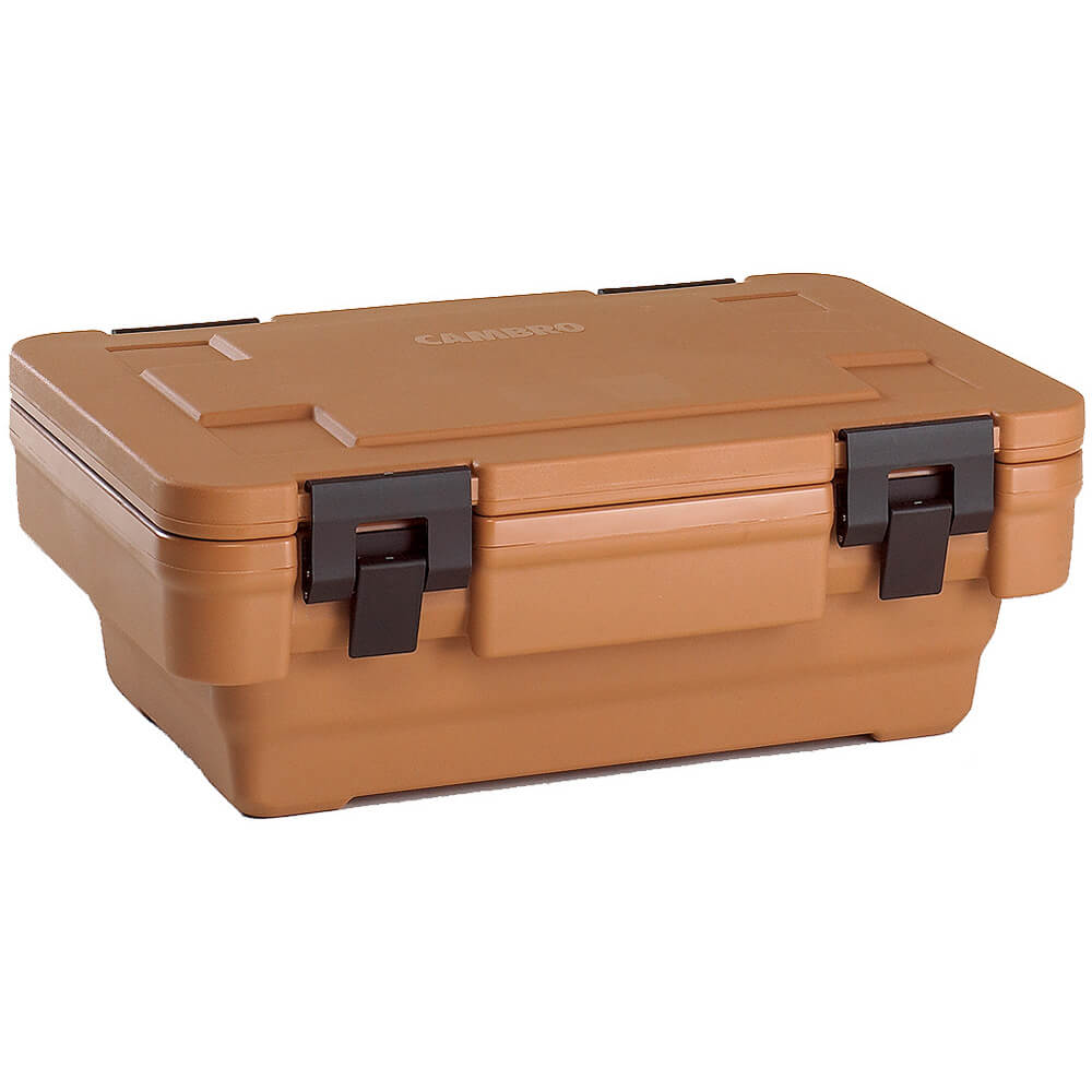 "Coffee Beige, Ultra Food Carrier S-Series, Stack-and-Store for 6"" Deep Pans"