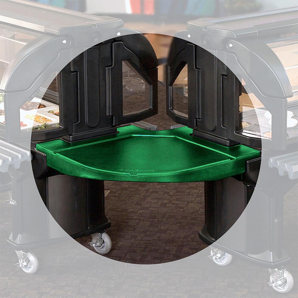 Green, Corner Food Bar Connector - Bar to Bar