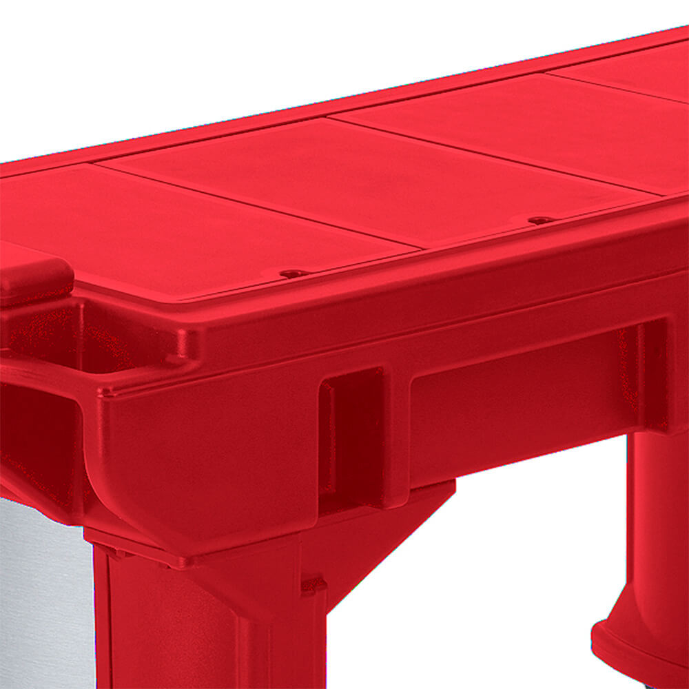 Hot Red, Well Cover for Versa Food Bars View 2