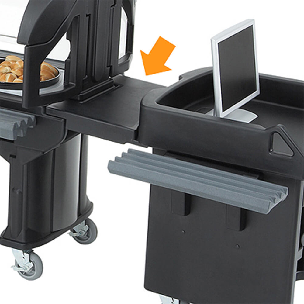 Black, Connector - Cart to Low Height Bar/Table