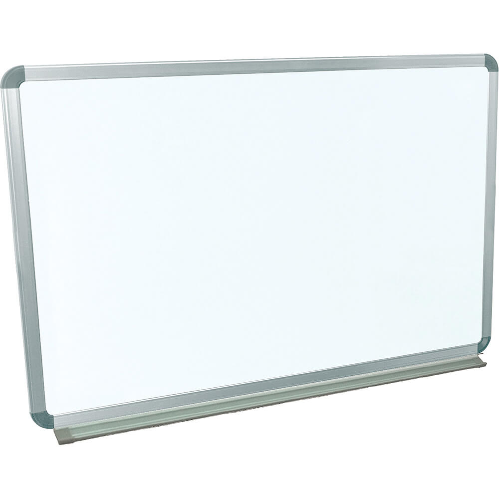 "Silver Frame, Dry Erase Whiteboard 36"" X 24"", Magnetic, Wall Mounted"