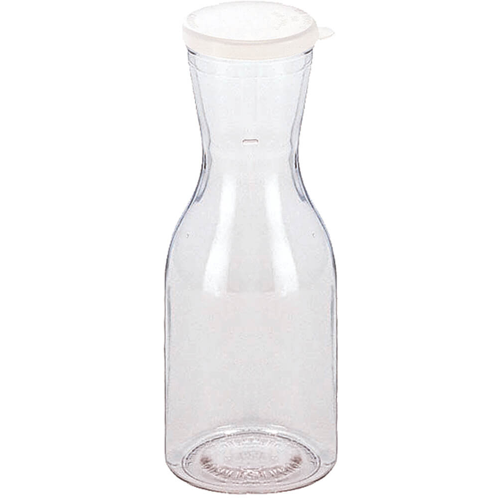 Clear, 1/4L Beverage Decanters with Lids, 12/PK