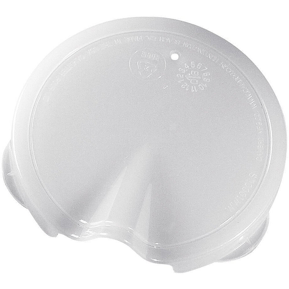 White, Replacement Lids for 1/4L Decanters View 2