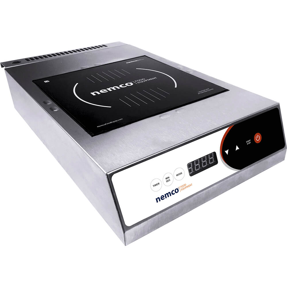 Stainless Steel, 2600W Portable Induction Cooktop