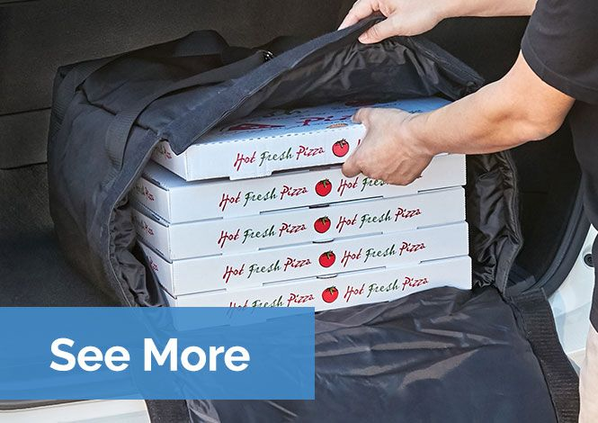 Insulated Meal Delivery and Pizza Bags