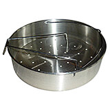 Stainless Steel, Optional Steamer Basket For Pressure Cooker 013206