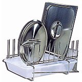Stainless Steel, Pot Lid Rack