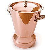 Copper, 8.25 Qt Potato And Vegetable Steamer