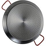 Steel Paella Pan, Polished Finish, 11""