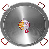 Steel Paella Pan, Polished Finish, 35.5""