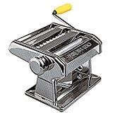 Chromed Steel Manual Pasta Maker Machine Ampia 150