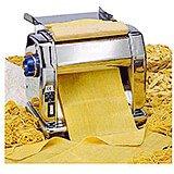Chromed Steel Electric Pasta Maker Machine Imperia