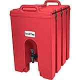 Hot Red, 11.75 Gal. Insulated Beverage Dispenser