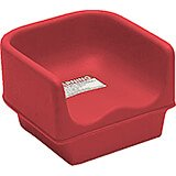 Hot Red, Single Height Booster Seat, No Strap 1/PK