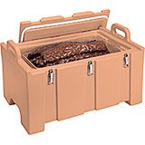 Coffee Beige, Insulated Food Carrier for Bulk Storage, Stackable