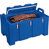 Navy Blue, Insulated Food Carrier for Bulk Storage, Stackable