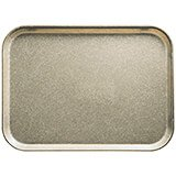 "Desert Tan, 13"" x 18"" x 1-1/16"" Food Trays, Fiberglass, 12/PK"