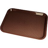 "Brown, 10"" x 14"" Fast Food Trays, 24/PK"
