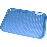 "Blue, 10"" x 14"" Fast Food Trays, 24/PK"