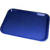 "Navy Blue, 10"" x 14"" Fast Food Trays, 24/PK"