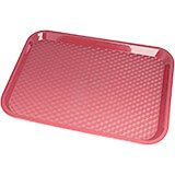 "Blush, 14"" x 18"" Fast Food Trays, 12/PK"