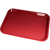 "Cranberry, 12"" x 16"" Fast Food Trays, 24/PK"