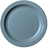 "Slate Blue, 10"" Narrow Rim Plate, Unbreakable Dinnerware, 48/PK"