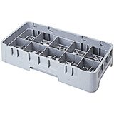 "Soft Gray, 10 Comp. Cup Racks, Half Size, 4.25"" H Max."