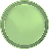 "Lime-Ade, 12"" Round Serving Tray, Fiberglass, 12/PK"