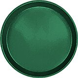 "Sherwood Green, 12"" Round Serving Tray, Fiberglass, 12/PK"