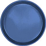 "Amazon Blue, 9"" Round Serving Tray, Fiberglass, 12/PK"
