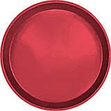 "Ever Red, 9"" Round Serving Tray, Fiberglass, 12/PK"