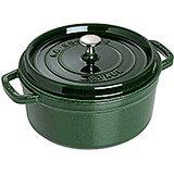 Basil, Round Cast Iron Cocotte, 2.75 Qt