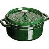 Basil, Round Cast Iron Cocotte, 5.5 Qt