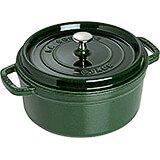 Basil, Round Cast Iron Cocotte, 13.25 Qt