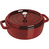 Grenadine, Round Dutch Oven, Cast Iron Cocotte, 6 Qt