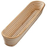 Willow Long Banneton Proofing Basket , 16.25""