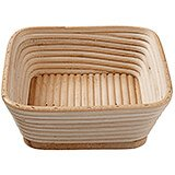 Willow Square Banneton Proofing Basket, 8.75""