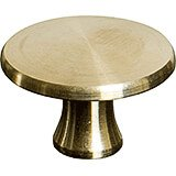 Medium Brass Replacement Lid Knob