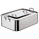 Stainless Steel Roasting Pan with Cover
