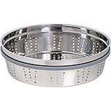 Stainless Steel Steamer Insert With Silicone Rings For 5.5 Qt Cocottes