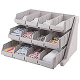 Speckled Gray, Condiment Holder with 12 Bins