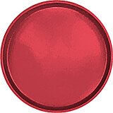 "Ever Red, 13"" Round Serving Tray, Fiberglass, 12/PK"