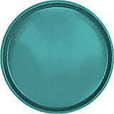 "Teal, 13"" Round Serving Tray, Fiberglass, 12/PK"